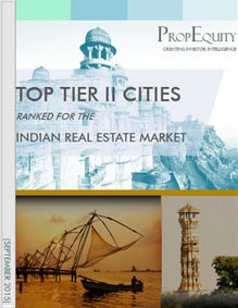 TOP TIER II CITIES RANKED FOR THE INDIAN REAL ESTATE MARKET